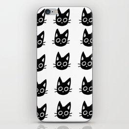 Black Kittens iPhone Skin