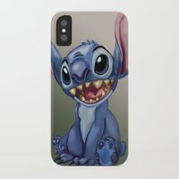 stitch iPhone & iPod Cases featuring Stitch by J-Normz