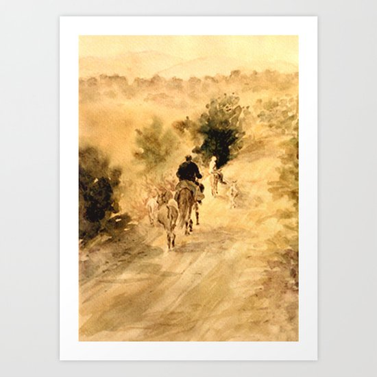 Return Home Art Print