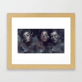 War Pestilence Death Framed Art Print