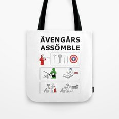 Superheroes Assembling - Colour Tote Bag