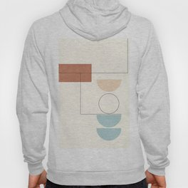 Minimal Geometric Shapes 126 Hoody