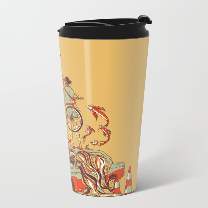 Whole New way Metal Travel Mug