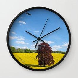 The Copper Beech Wall Clock