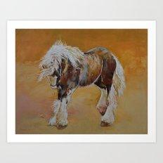Gypsy Pony Art Print