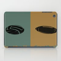 football iPad Cases featuring Football & Football by hensleyandchristensen