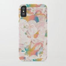 Flower Pop iPhone X Slim Case