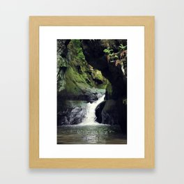 Not Everything you see is All there is Framed Art Print