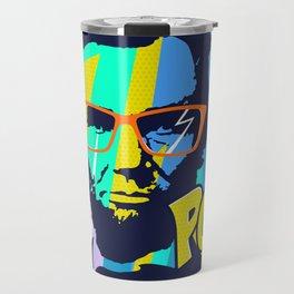 HIPSTER LINCOLN POP ART Travel Mug
