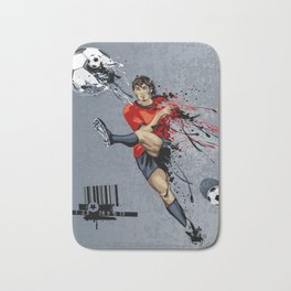 Football Player Bath Mat