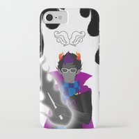 homestuck iPhone & iPod Cases featuring Afraid of the Darko by catalysticskies