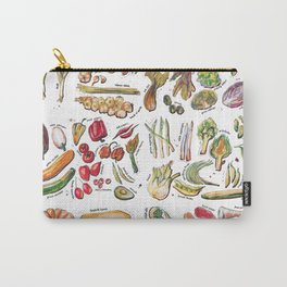 Vegetable Encyclopedia Carry-All Pouch