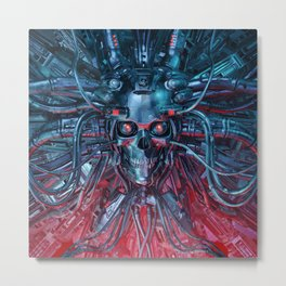 Heavy Metal Mind Metal Print