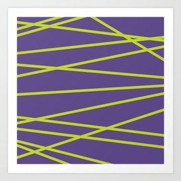 Violet Funk Art Print
