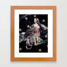 No Mythologies: Sphinx Framed Art Print