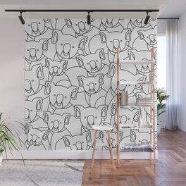 Minimalist Koala Wall Mural