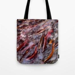 A bind of salmon Tote Bag
