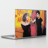 danny haas Laptop & iPad Skins featuring Danny and Sandy by Natalya Fiore