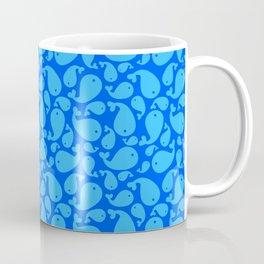 Blue whale pattern Coffee Mug