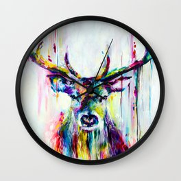 Jamaican Deer Wall Clock