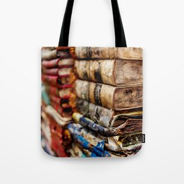 Stacks and stacks of books, Venice Italy Tote Bag