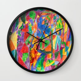 An Oasis in the Desert Wall Clock