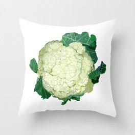 cauliflower Throw Pillow