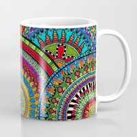 mandela Mugs featuring Mandela Mania by Draw Doodle Decorate