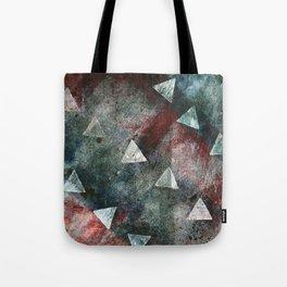 Dark Triangles Tote Bag