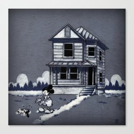 Who left this here? Canvas Print