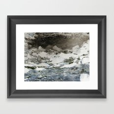 Where there's smoke Framed Art Print