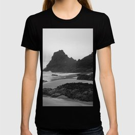 Mist Rolling in at Kynance Cove T-shirt