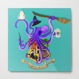 Hogwarts Octopus Metal Print
