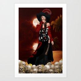 Calipso 1 Art Print