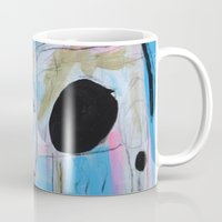 cows Mugs featuring Cows by CharestStudios