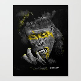 Gorila Gold Canvas Print