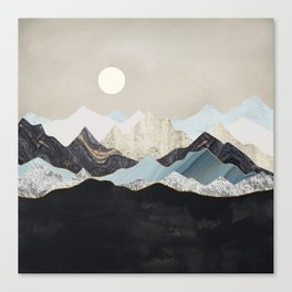 Silent Dusk Canvas Print