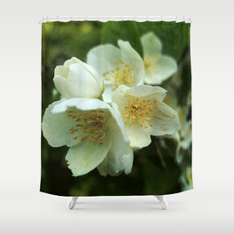 Fragrant Flower Elegance Shower Curtain