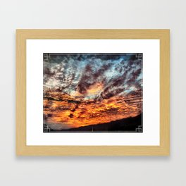 Day To Break Framed Art Print