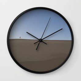 Mountain Made of Sand Wall Clock