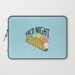 Ice Cream Taco Night Laptop Sleeve
