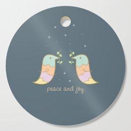Peace and Joy Cutting Board