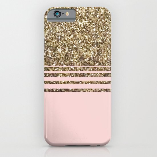 Glitter Pink iPhone & iPod Case