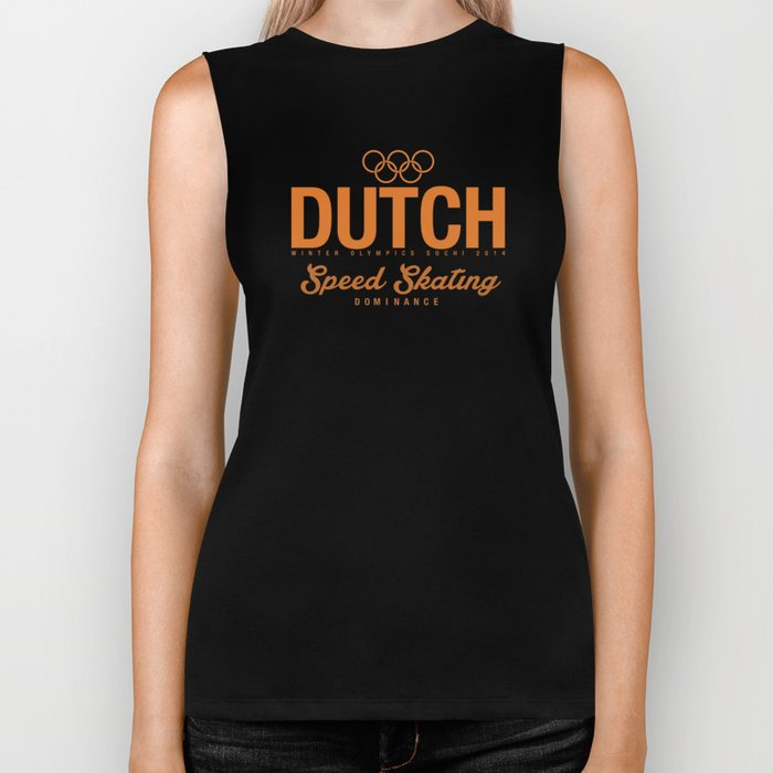 Dutch - Speed Skating Biker Tank