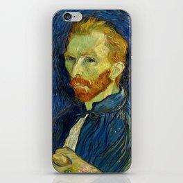 Vincent Van Gogh Self Portrait With Palette iPhone Skin