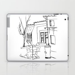 Old house on the street in the Plovdiv's old town Laptop & iPad Skin