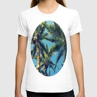 palm tree T-shirts featuring Palm Tree by Jillian Stanton