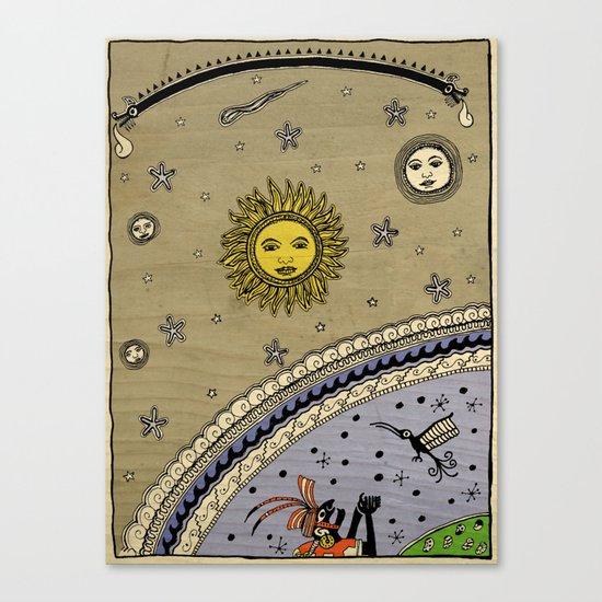 Mestizo - Métis - Mestiço Canvas Print