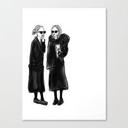 mary-kate n ashley 4 eva Canvas Print