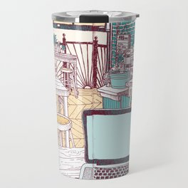 Father Knows Best Travel Mug